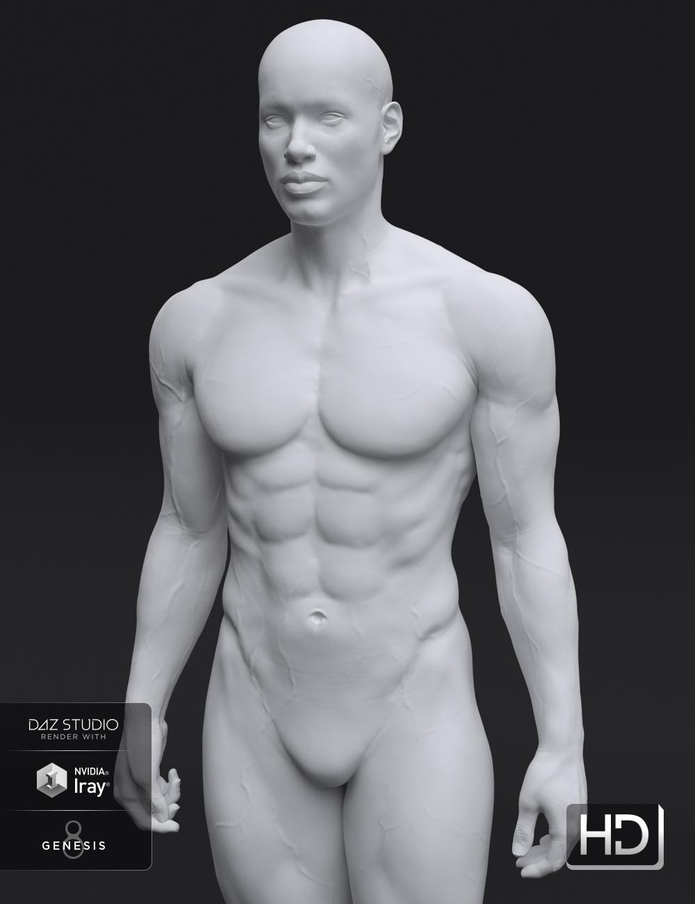 Darius 8 HD Add-On by: , 3D Models by Daz 3D