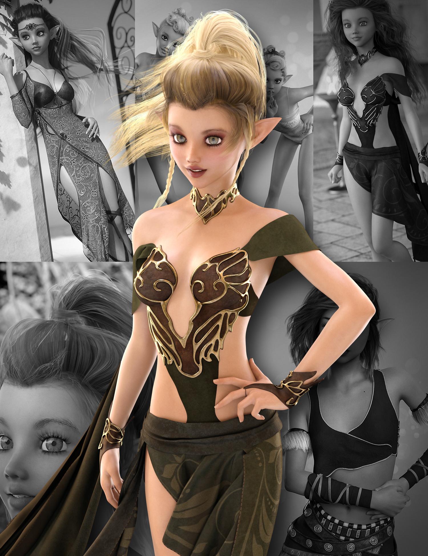Karyssa 8 Pro Bundle by: , 3D Models by Daz 3D