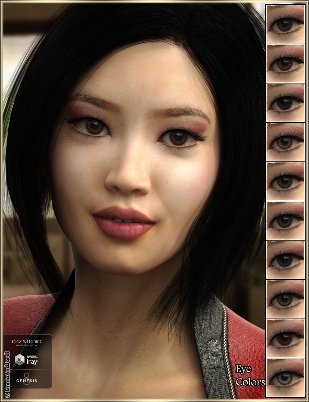 EJ Midori for Genesis 8 Female   GFX-HUB