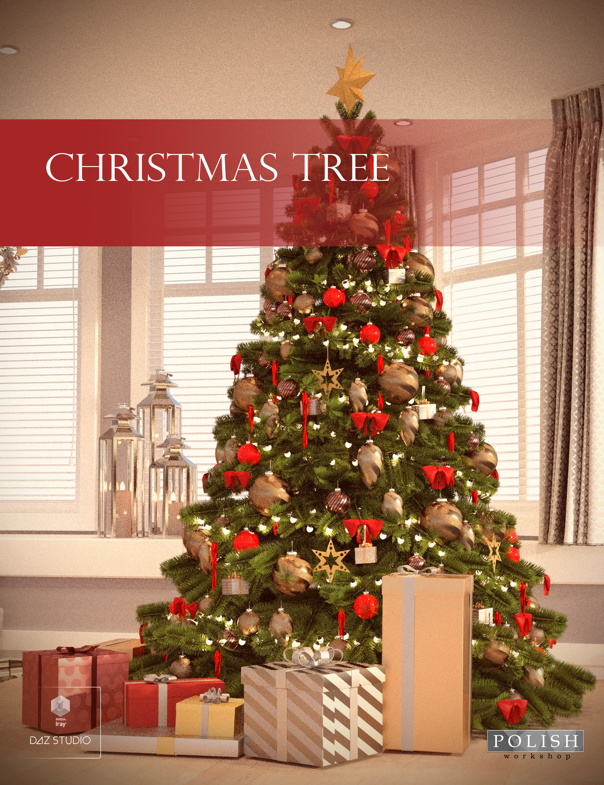 Christmas Tree by: Polish, 3D Models by Daz 3D