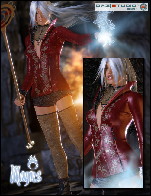 Magus by: SarsaXena, 3D Models by Daz 3D