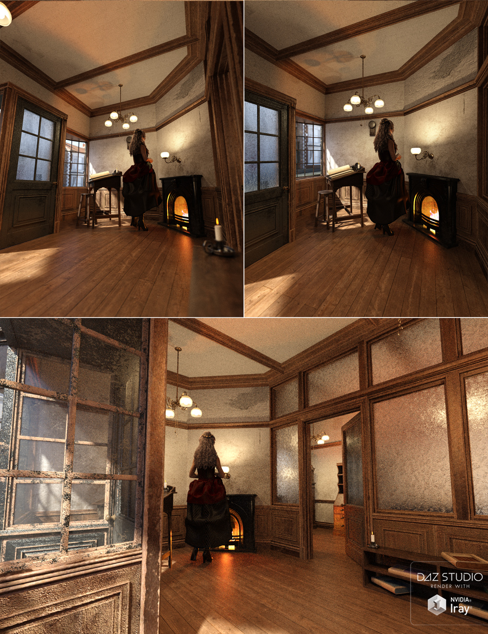 Counting House by: ForbiddenWhispersDavid Brinnen, 3D Models by Daz 3D