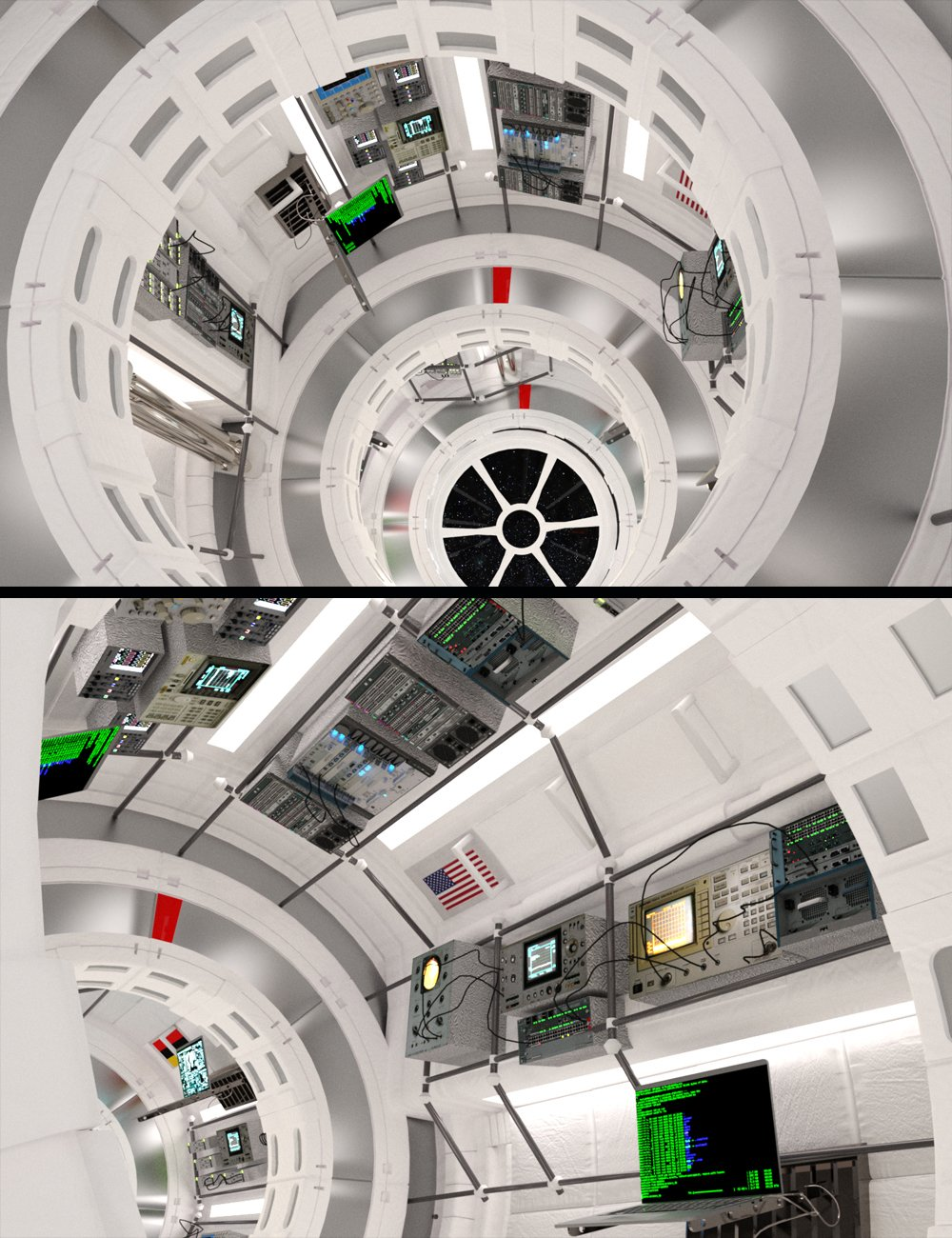 Space Station by: Digitallab3D, 3D Models by Daz 3D
