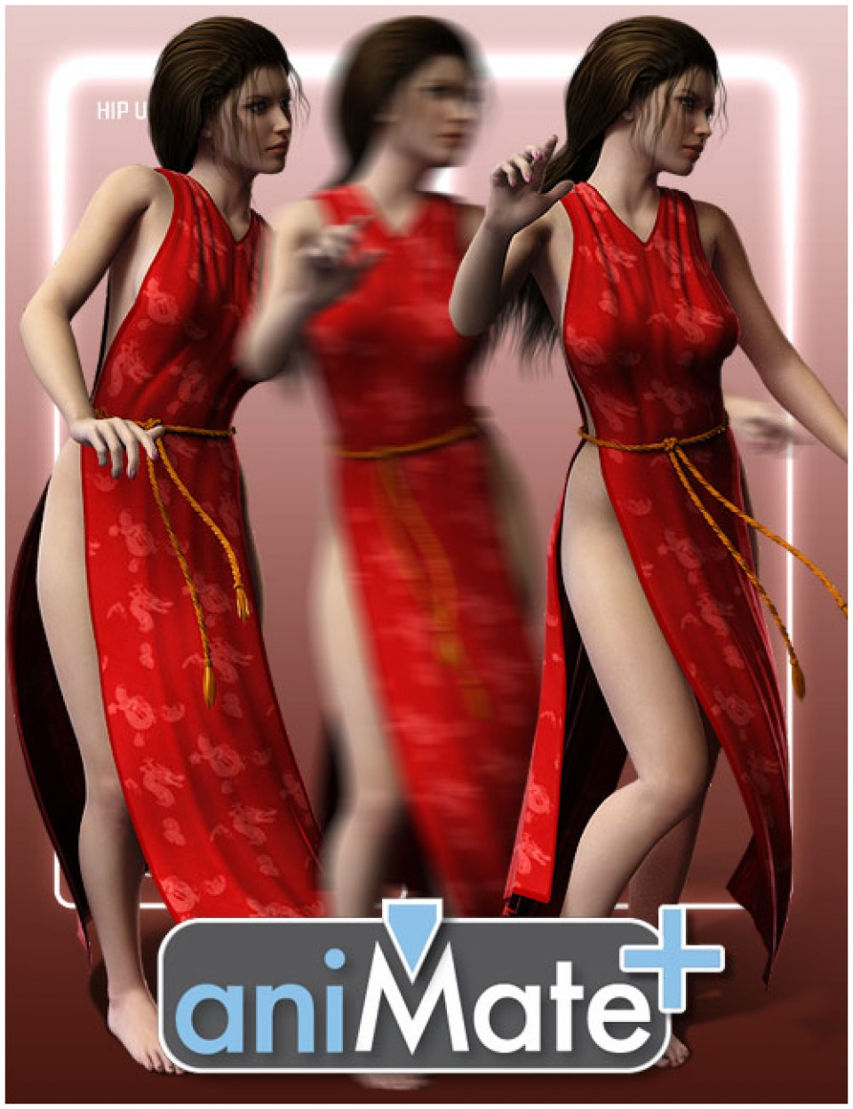 aniMate Belly Dancing for Victoria 8 by: GoFigure, 3D Models by Daz 3D