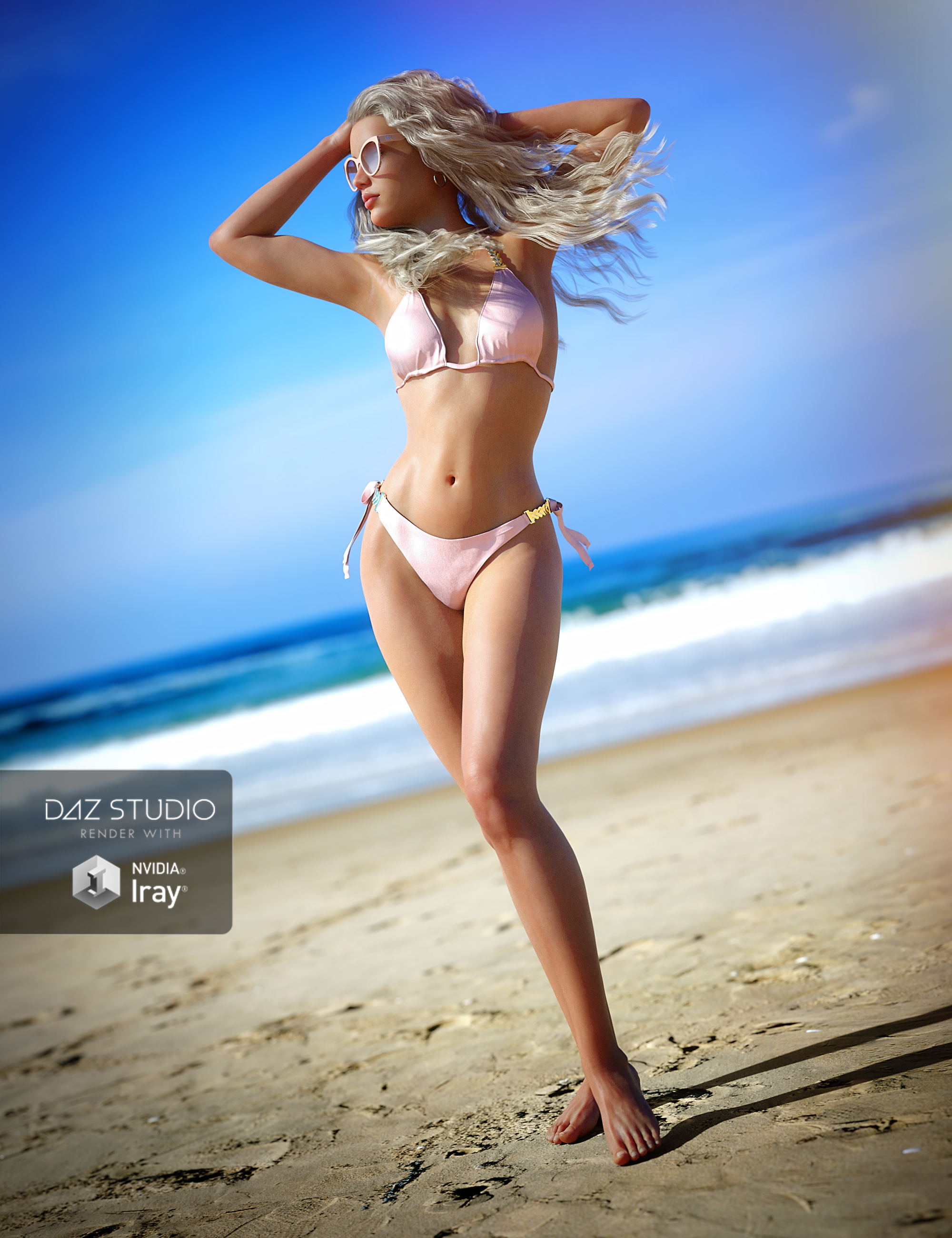 UltraHD IRAY HDRI With DOF - Sunny Beaches Pack 1 by: Cake OneBob Callawah, 3D Models by Daz 3D