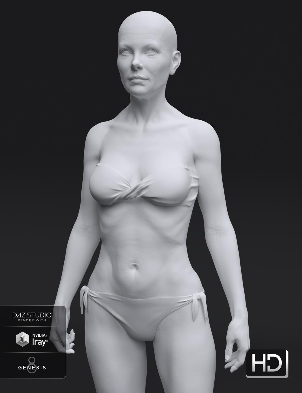 Alexandra 8 HD Add-On by: , 3D Models by Daz 3D