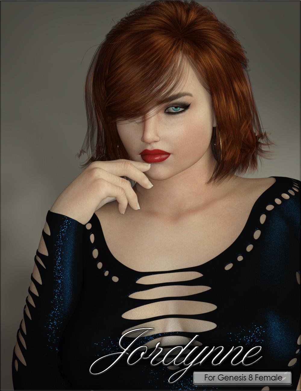 VYK Jordynne for Genesis 8 Female by: vyktohria, 3D Models by Daz 3D