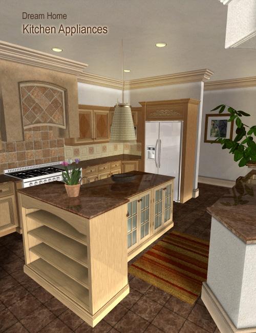 Dream Home: Kitchen Appliances by: , 3D Models by Daz 3D