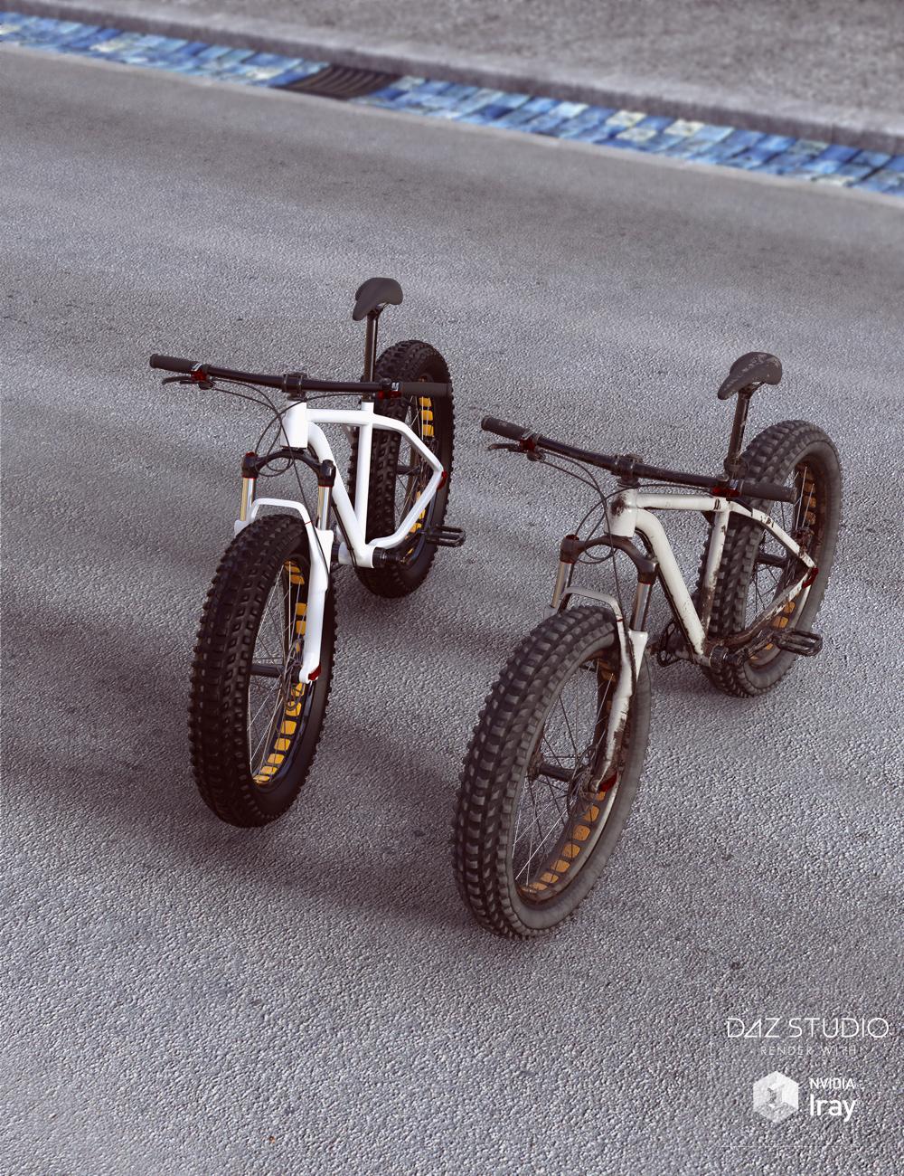 Fat Bike by: David BrinnenForbiddenWhispers, 3D Models by Daz 3D