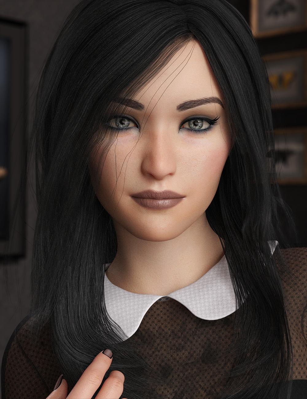 LY Naryssa HD for Genesis 8 Female by: Lyoness, 3D Models by Daz 3D