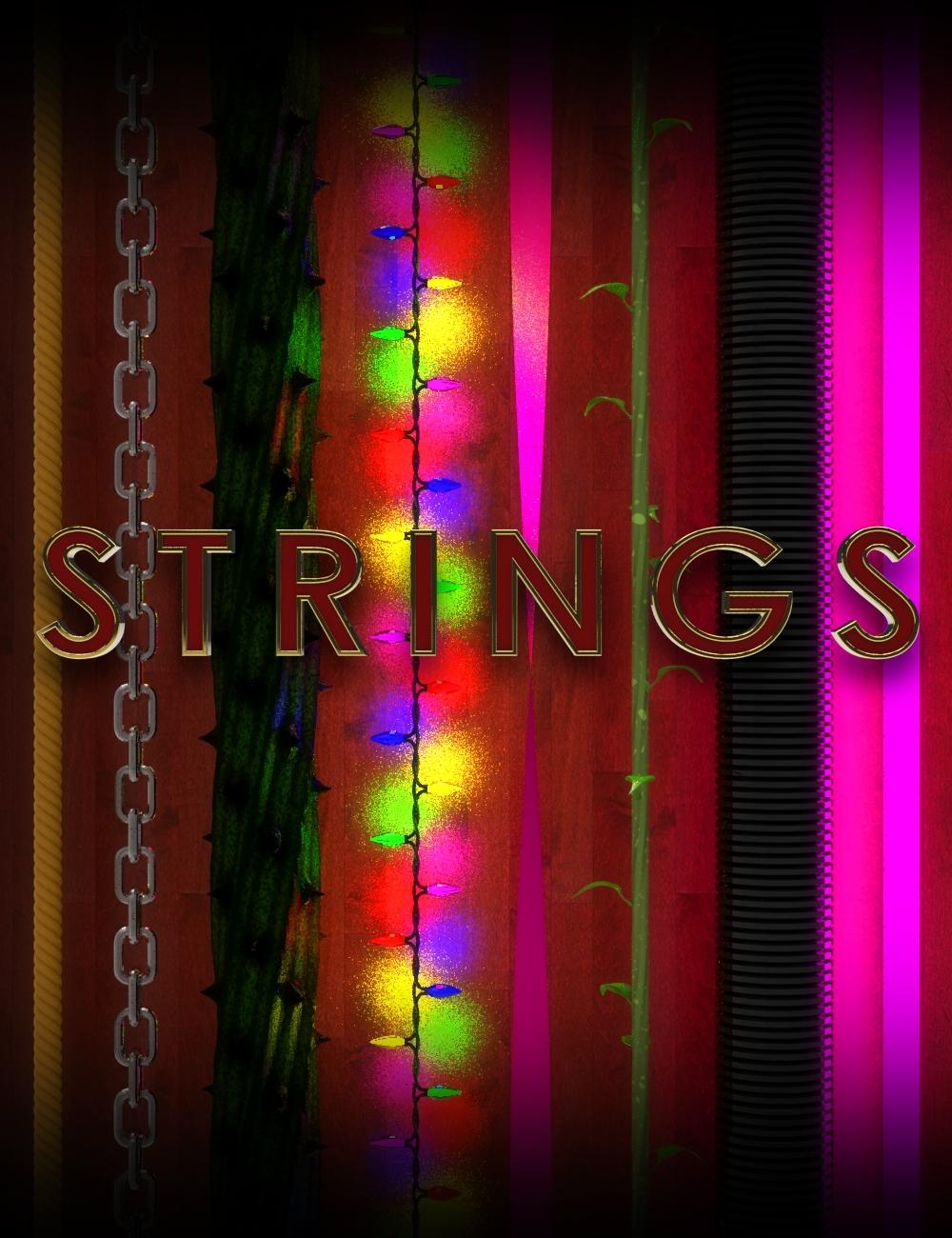 STRINGS by: Mechasar, 3D Models by Daz 3D