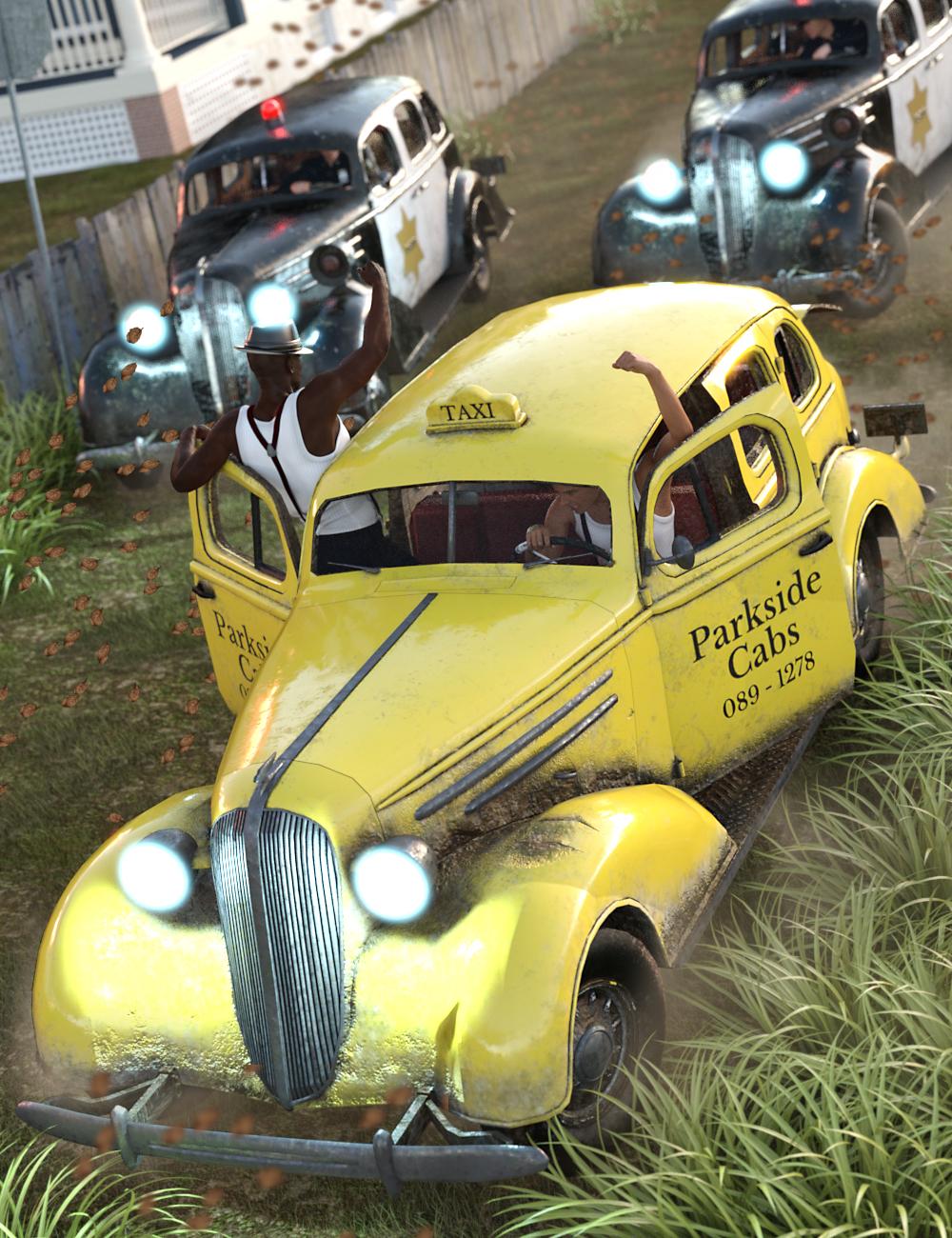 Cabs 'n' Cops by: GolaM, 3D Models by Daz 3D