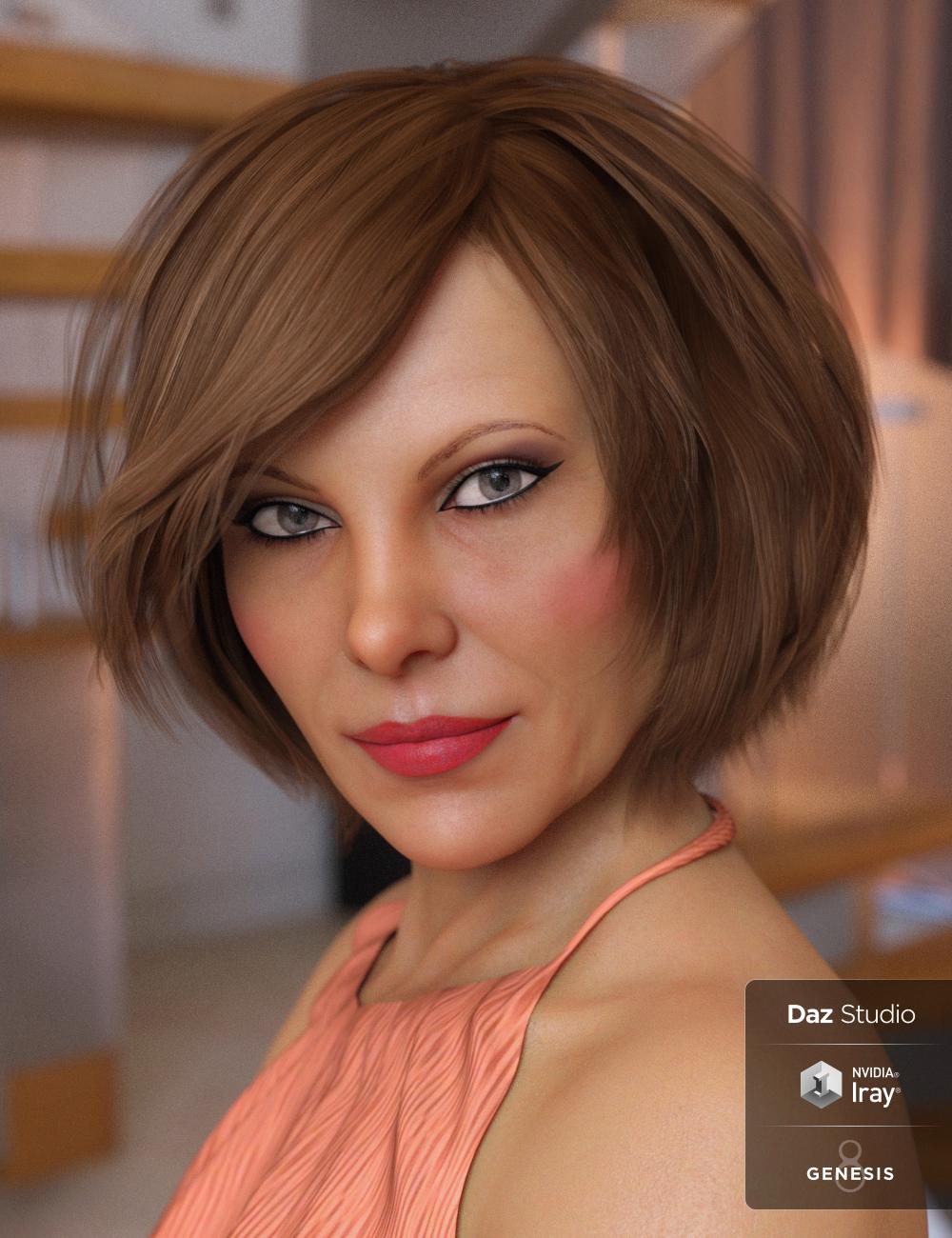 Fashion Bob for Genesis 3 & 8 Female(s) by: goldtassel, 3D Models by Daz 3D