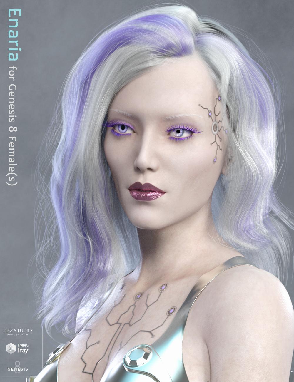 Enaria for Genesis 8 Female by: Eva1, 3D Models by Daz 3D