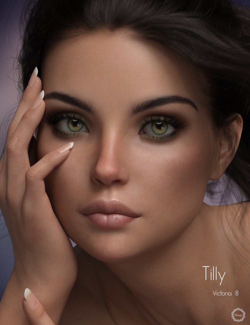 P3D Tilly for Victoria 8 by: P3Design, 3D Models by Daz 3D