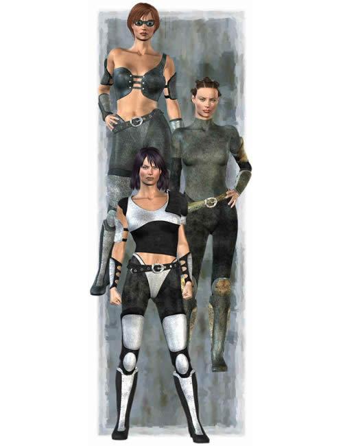 Outlander for Victoria 3 Texture Pack by: Lourdes, 3D Models by Daz 3D