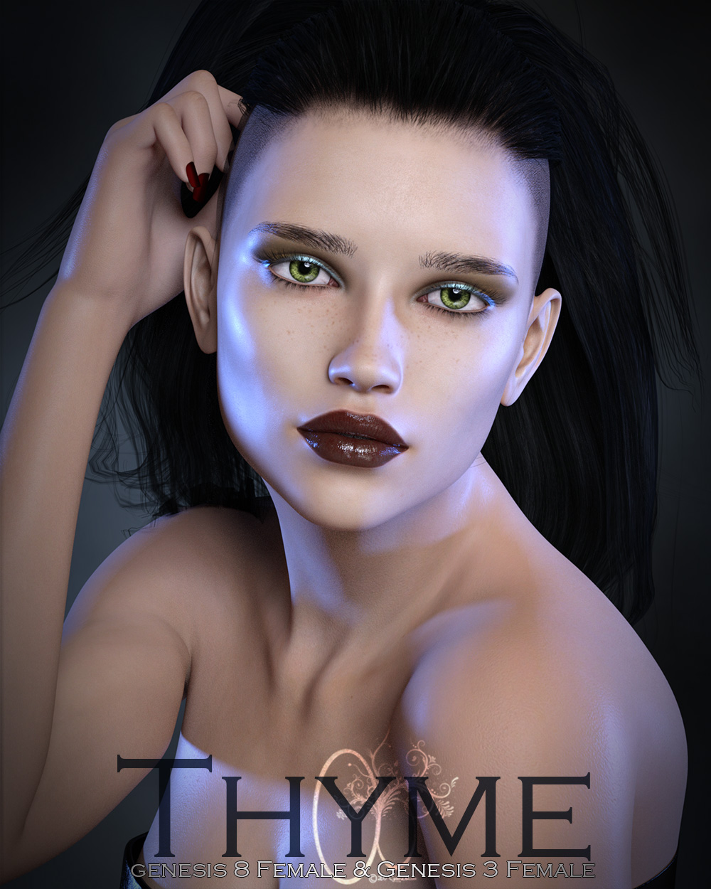 CB Thyme for Genesis 3 and 8 Female by: CynderBlue, 3D Models by Daz 3D