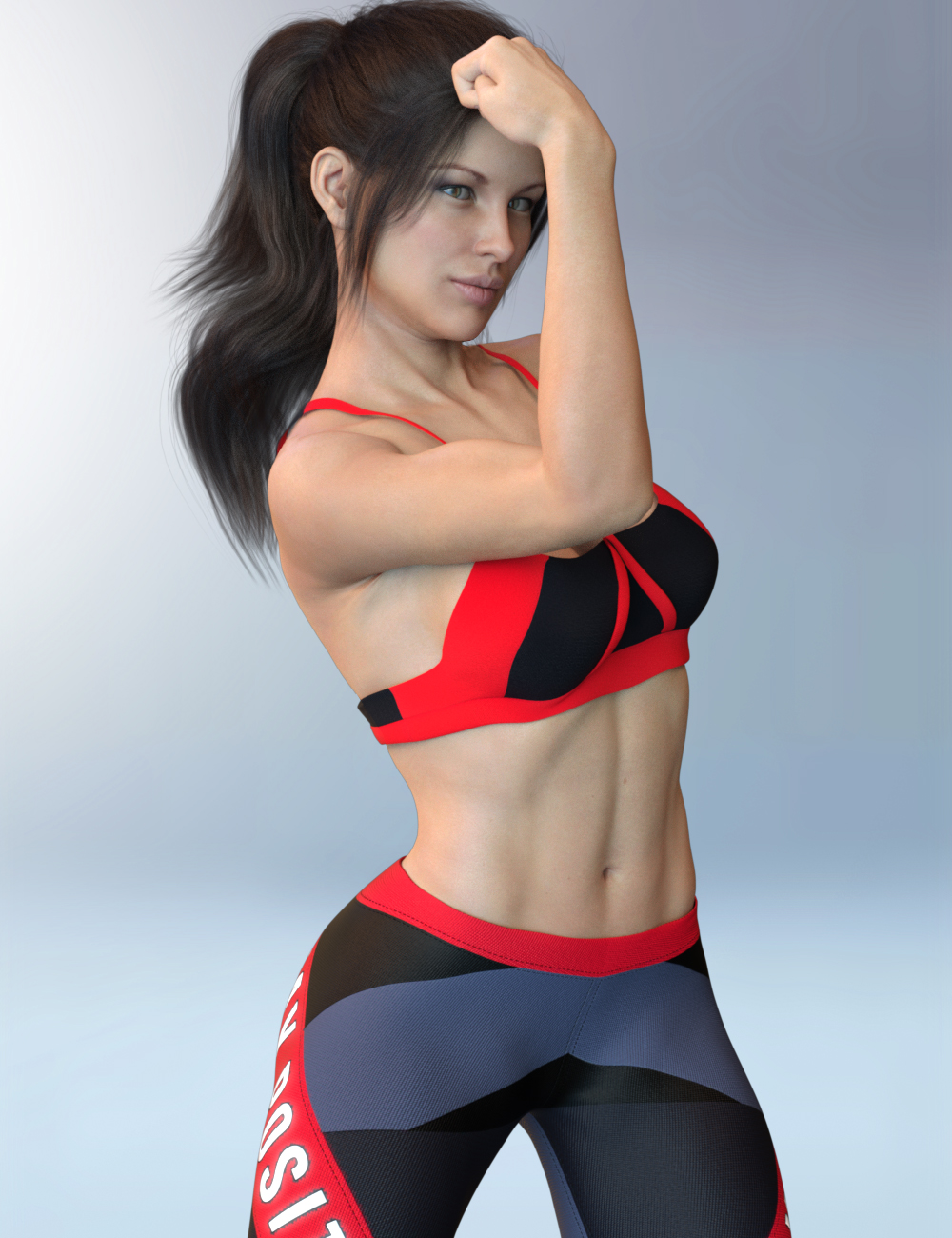 X-Fashion Activewear 02 Outfit for Genesis 8 Female(s) by: xtrart-3d, 3D Models by Daz 3D