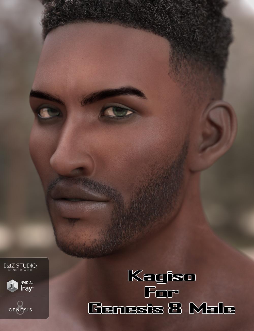 Kagiso for Genesis 8 Male by: JavierMicheal, 3D Models by Daz 3D