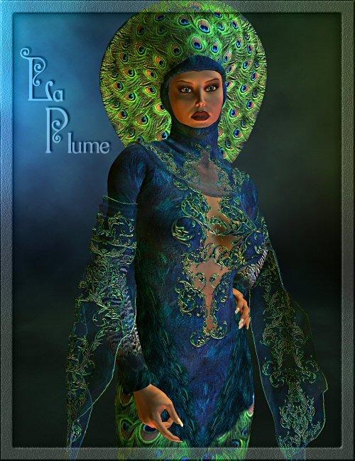 La Plume by: , 3D Models by Daz 3D
