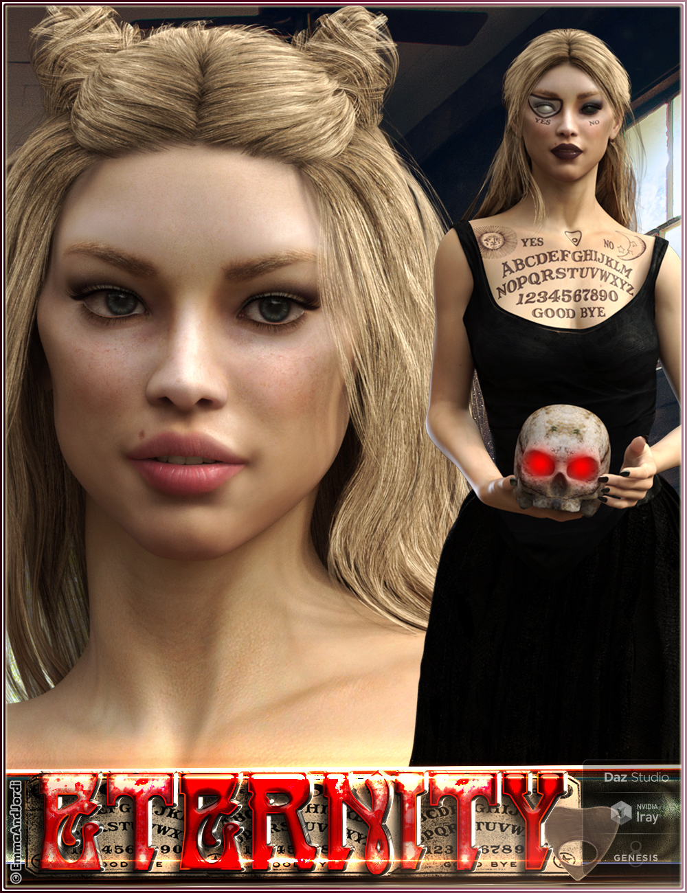 EJ Eternity for Genesis 8 Female by: EmmaAndJordi, 3D Models by Daz 3D