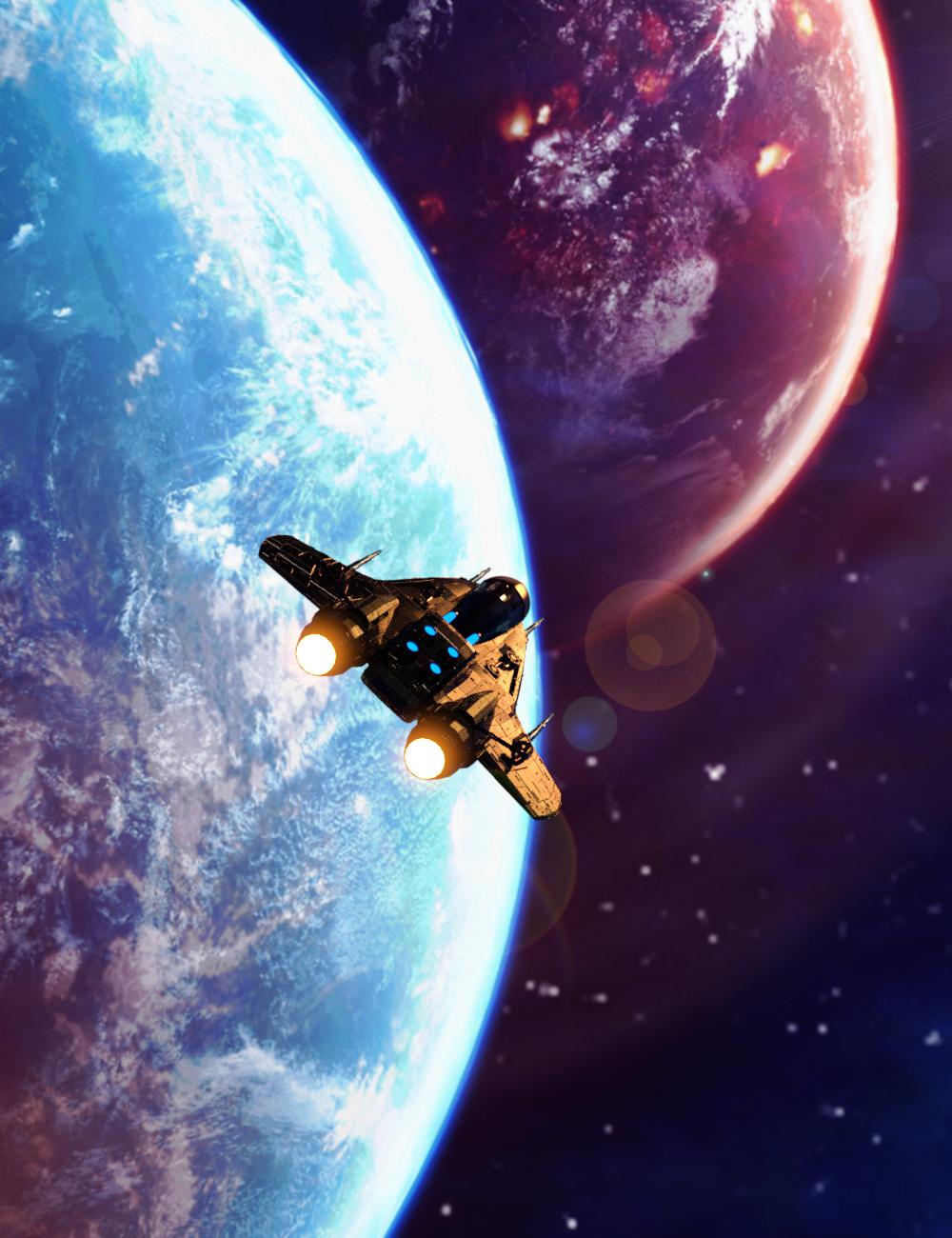 Sci-Fi HDRI by: AcharyaPolina, 3D Models by Daz 3D
