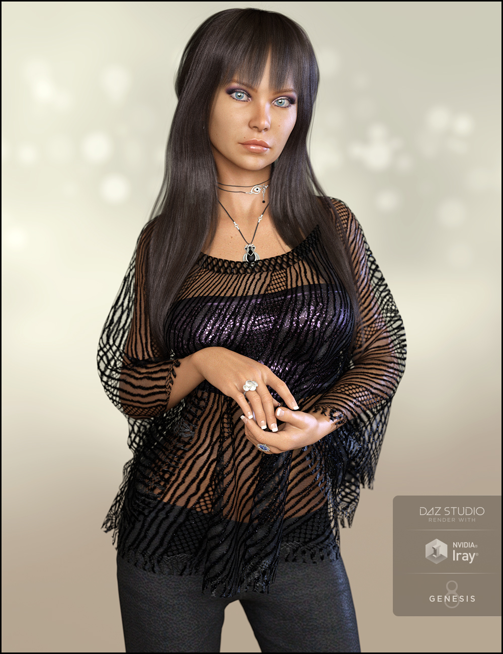 Kylie for Alexandra 8 by: DemonicaEviliusJessaii, 3D Models by Daz 3D