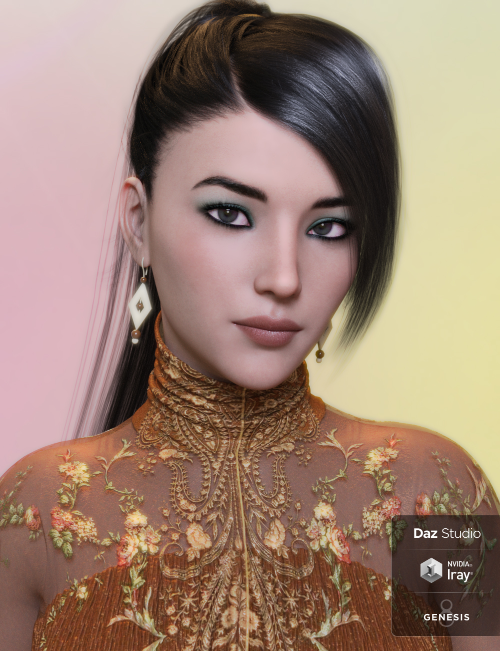 Isae for Genesis 3 and 8 Female by: AnainAkasha, 3D Models by Daz 3D