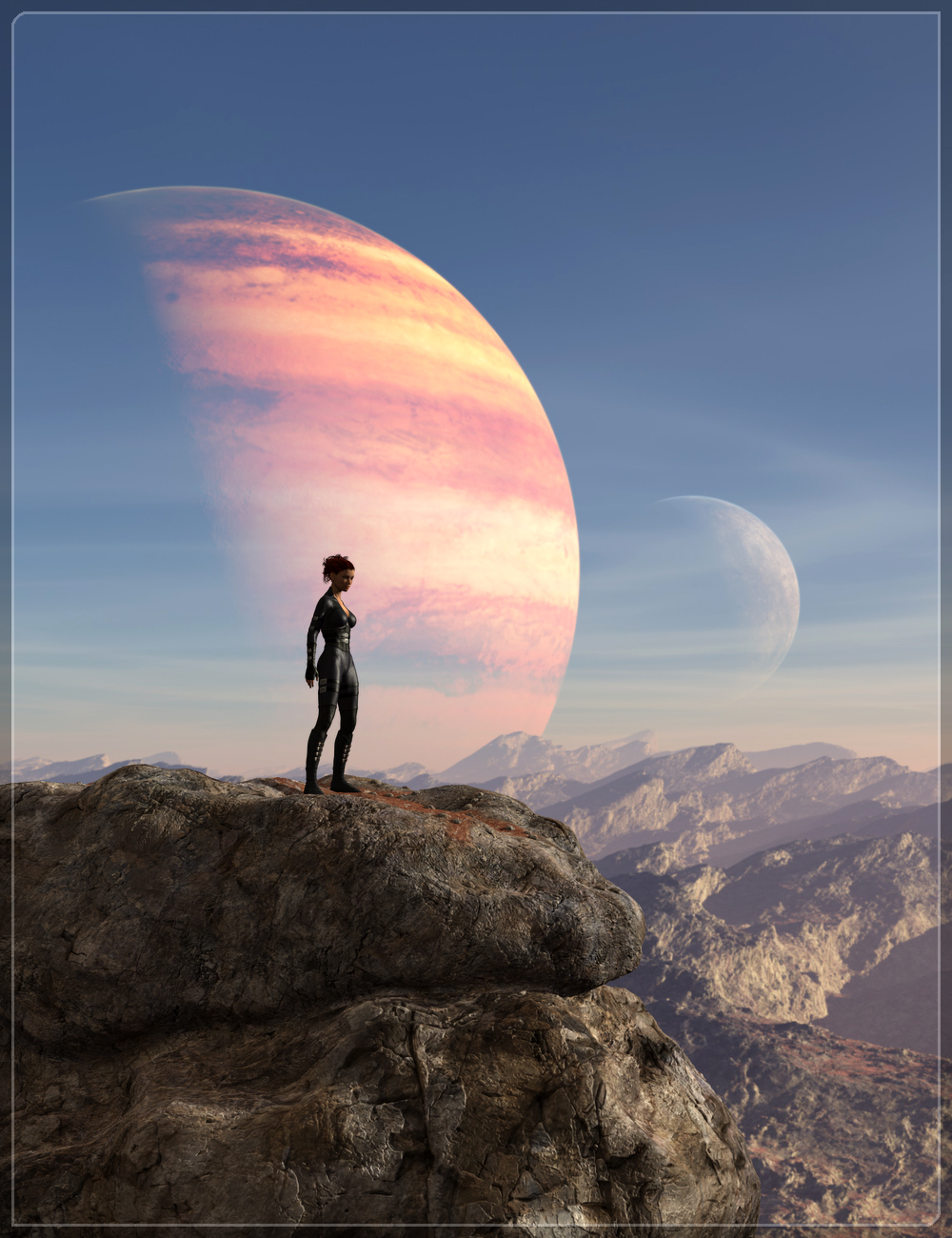Easy Environments: ExoPlanet I by: Flipmode, 3D Models by Daz 3D