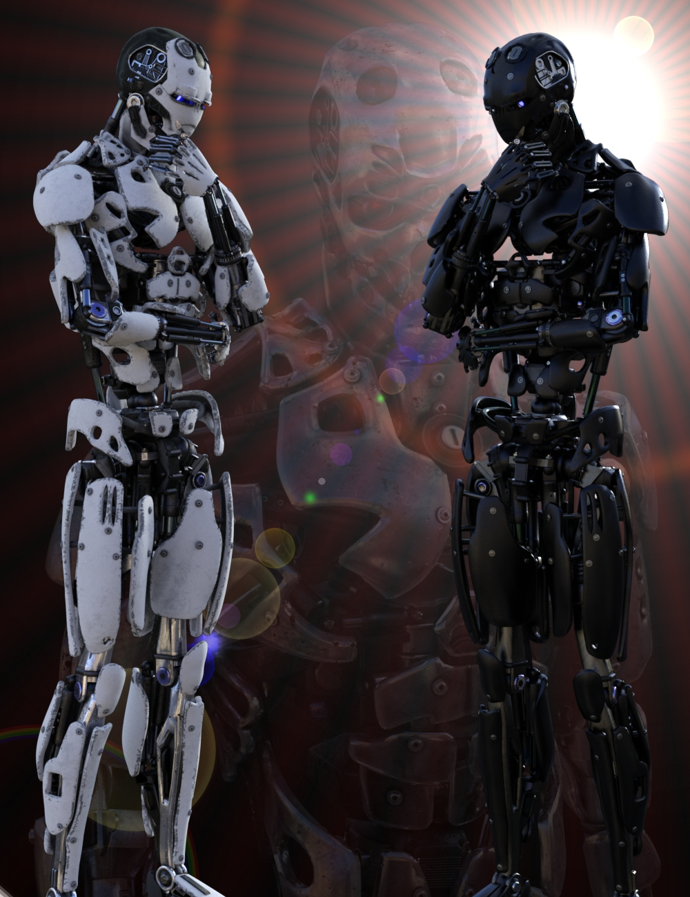 Cyborg Generation 8 by: DzFire, 3D Models by Daz 3D