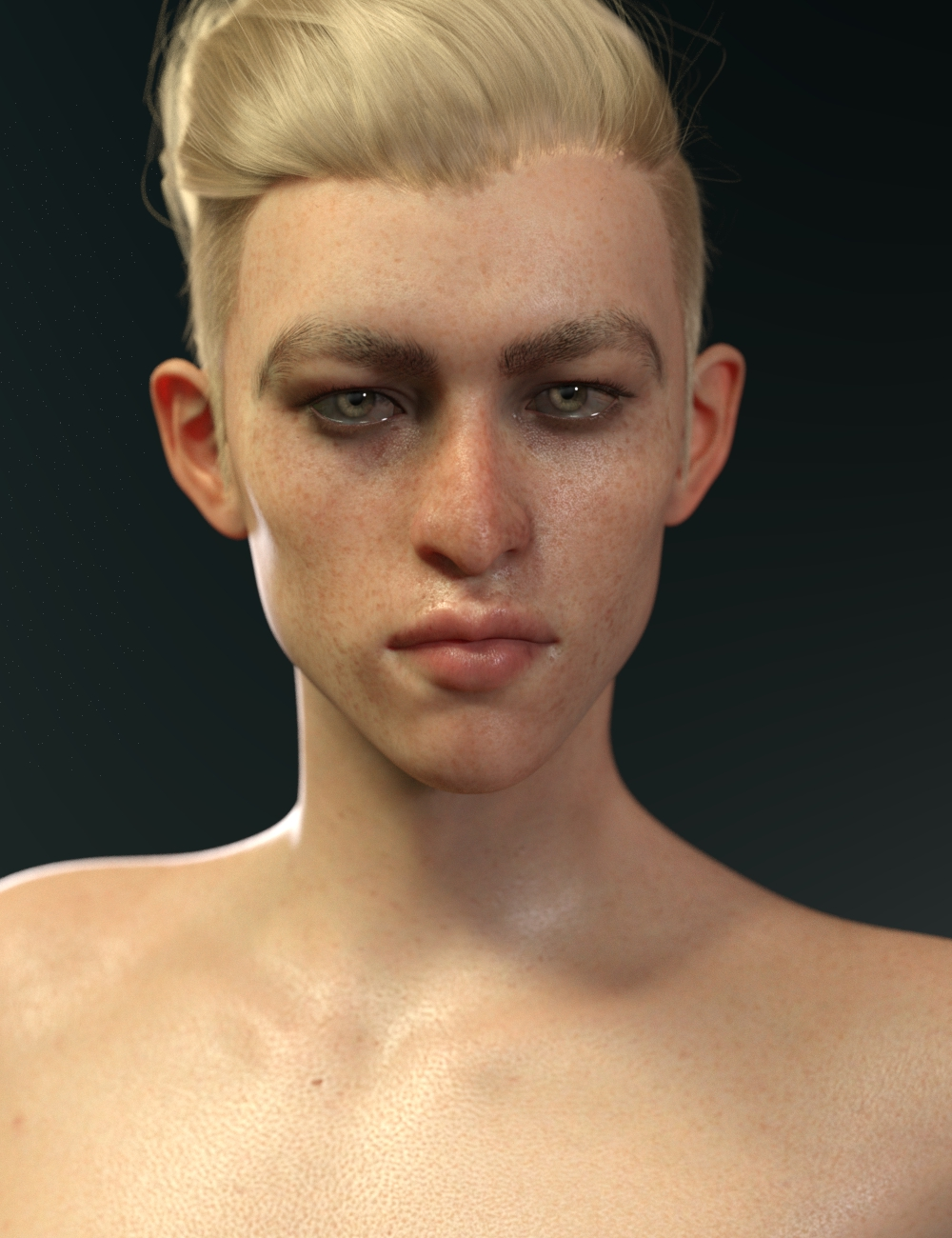Fiore for Genesis 8 Male by: Saiyaness, 3D Models by Daz 3D