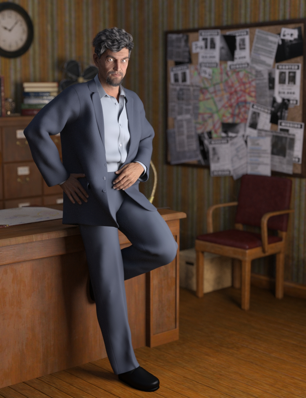 dForce Informal Suit for Genesis 8 Male(s) by: Aave Nainen, 3D Models by Daz 3D