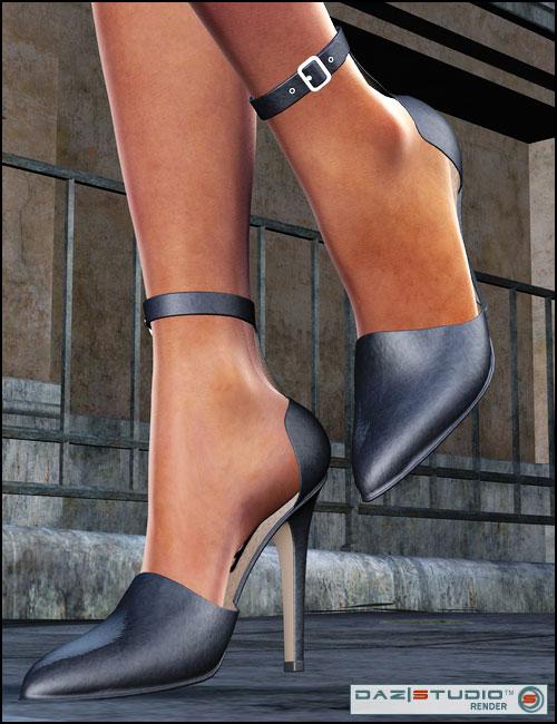 V4 Shoe Pack 2 by: , 3D Models by Daz 3D
