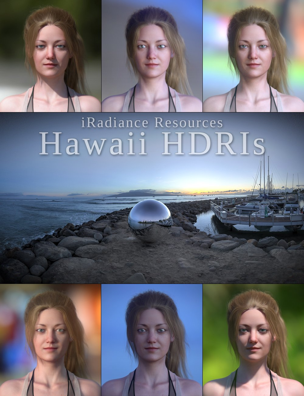 iRadiance HDR Resources - Hawaii by: DimensionTheory, 3D Models by Daz 3D