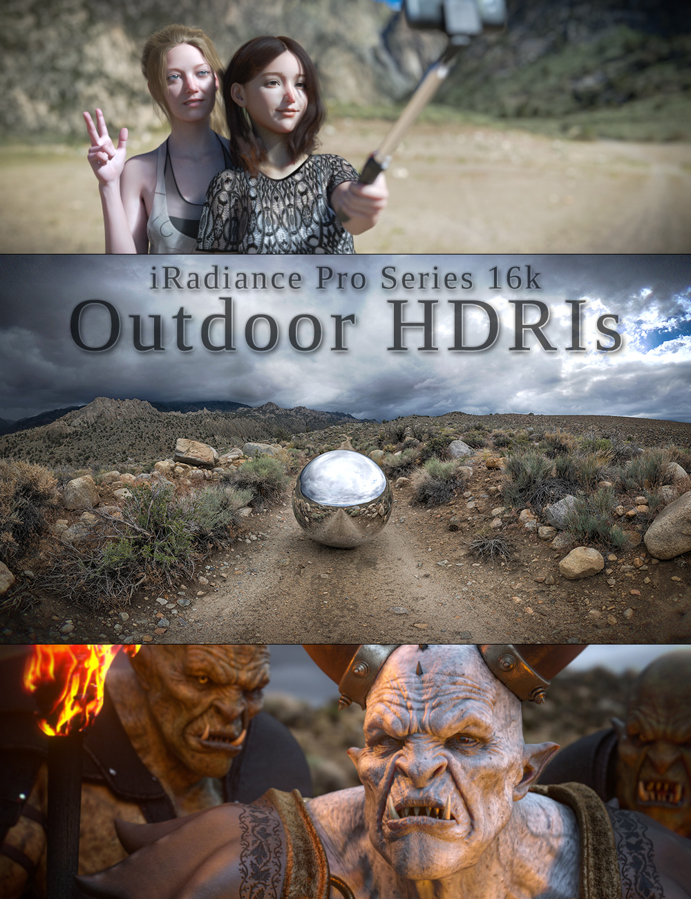 iRadiance Pro Series 16k HDRIs - Big Outdoors by: DimensionTheory, 3D Models by Daz 3D