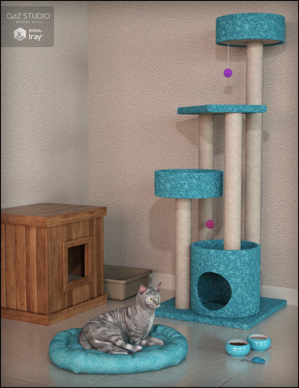 Kitty Treats Cat Props by: Fisty & Darc, 3D Models by Daz 3D