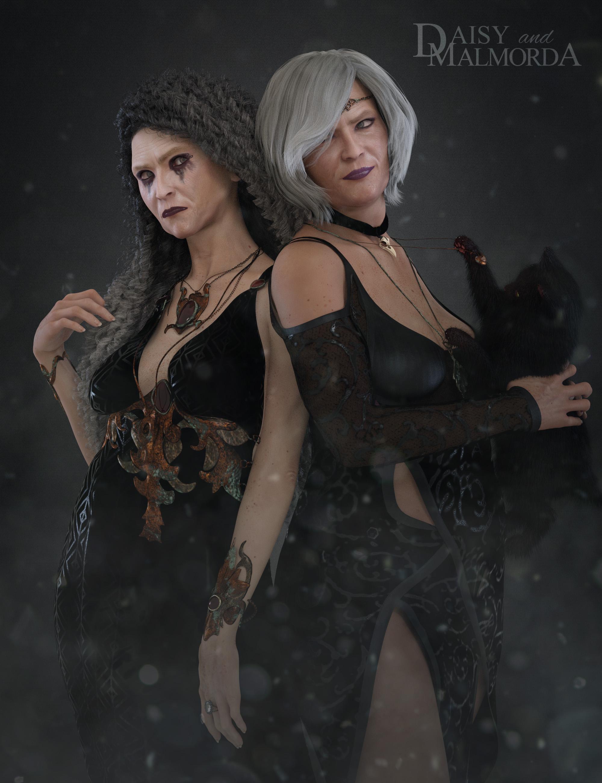 EJ Daisy and Malmorda for Genesis 8 Female by: EmmaAndJordi, 3D Models by Daz 3D