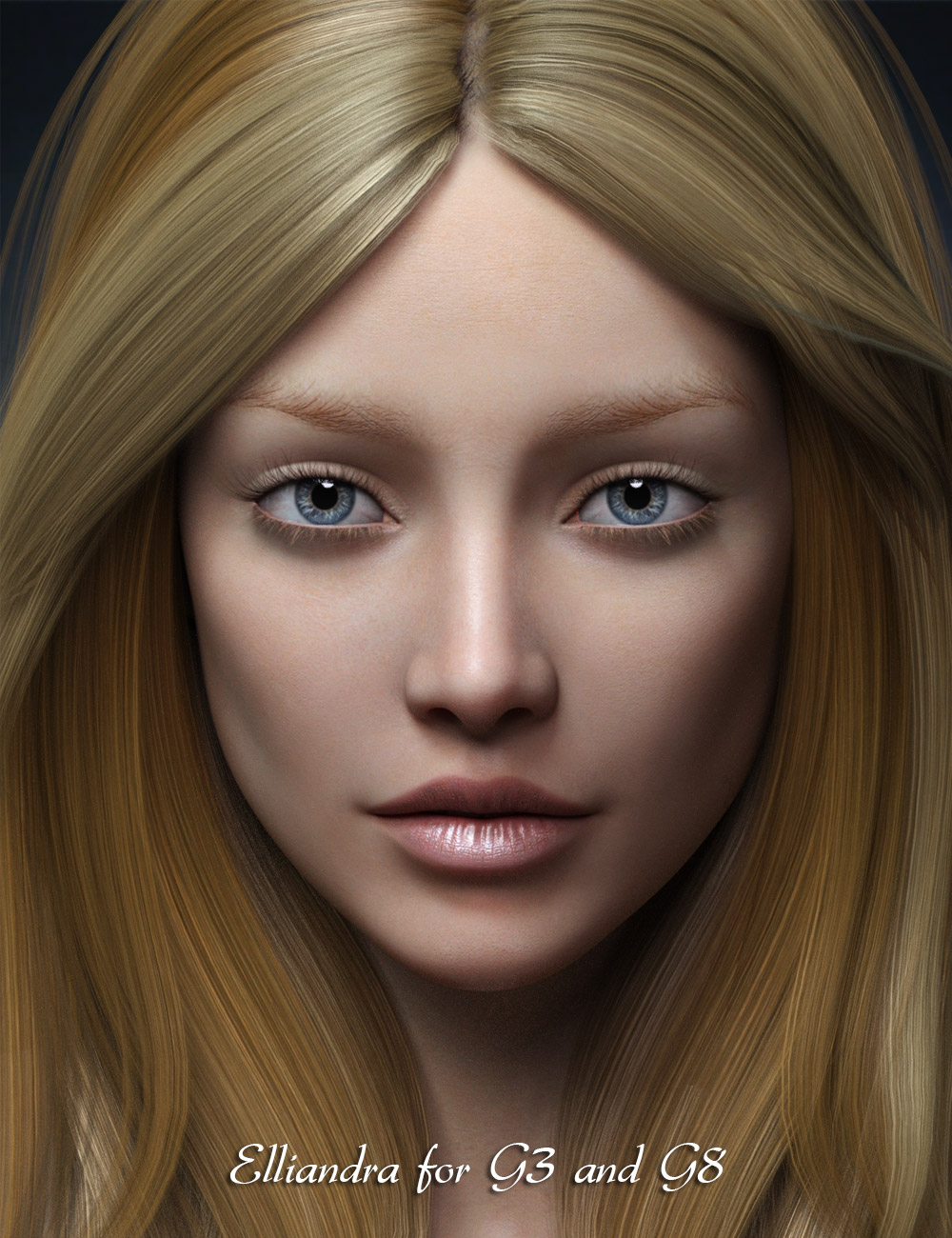Elliandra for Genesis 3 and 8 Female by: Mousso, 3D Models by Daz 3D