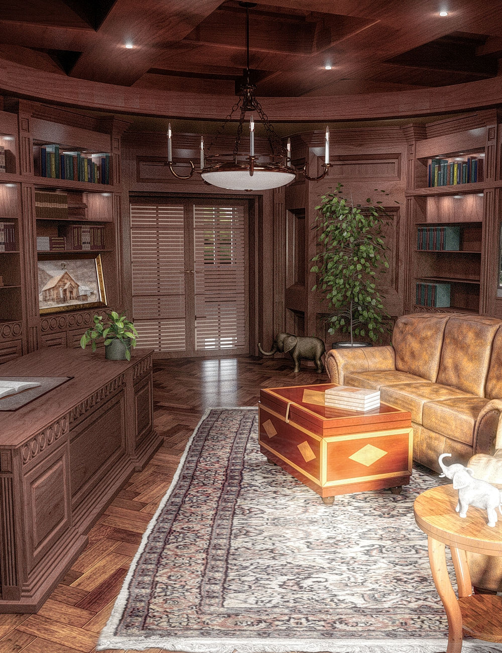 FG Dean's Office by: Fugazi1968, 3D Models by Daz 3D