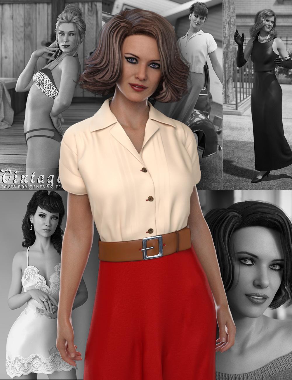 Penny 8 Starter Bundle by: , 3D Models by Daz 3D