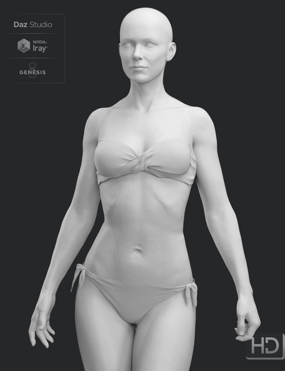 Penny 8 HD Add-On by: , 3D Models by Daz 3D