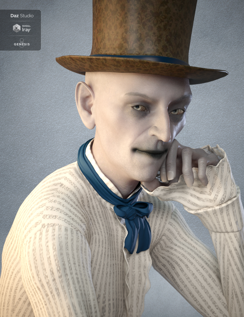 Zackyr for Ollie 8 by: Eva1, 3D Models by Daz 3D