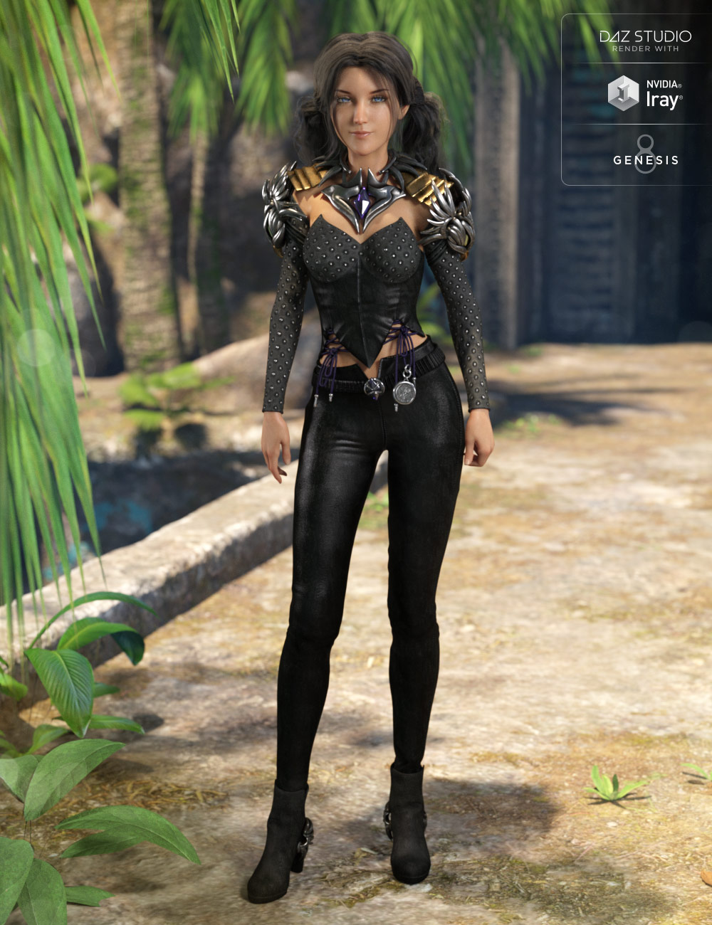 Phoenix Outfit for Genesis 8 Female(s) by: Anna BenjaminMada, 3D Models by Daz 3D