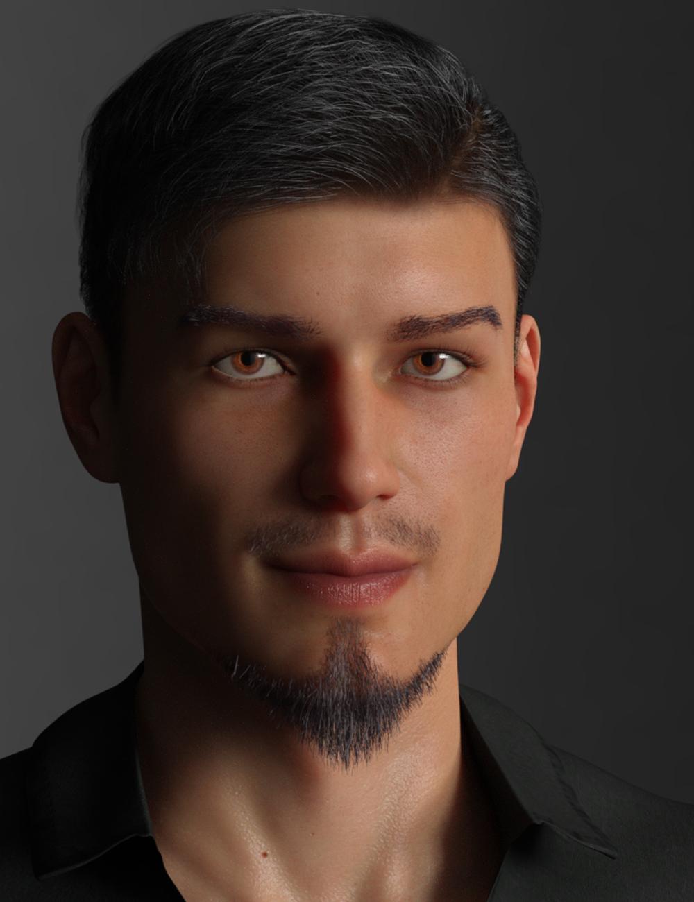 CC Beard Boss for Genesis 8 Male(s) by: ChangelingChick, 3D Models by Daz 3D