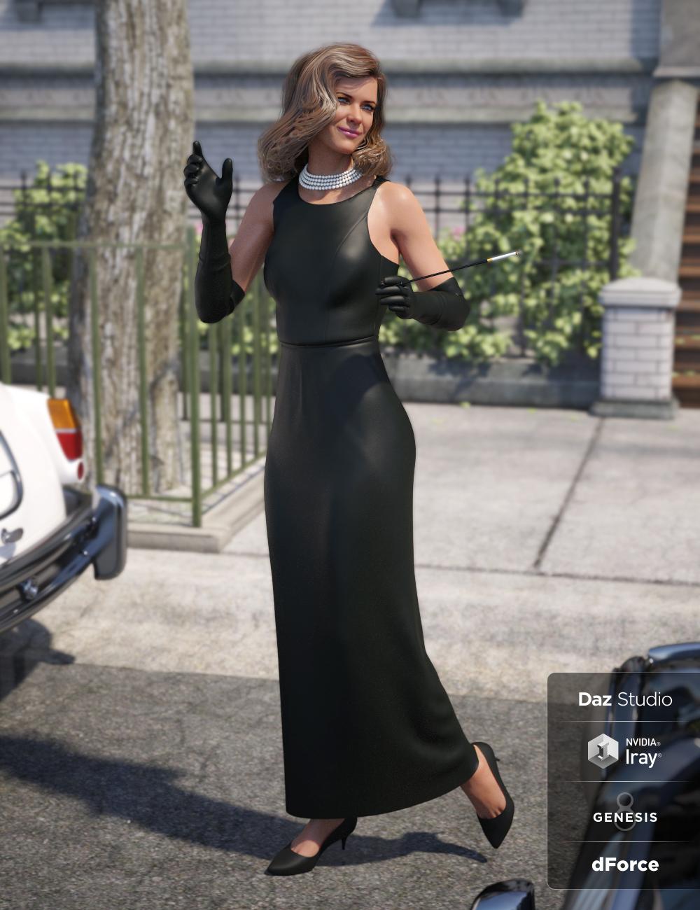 dForce Breakfast Date Outfit for Genesis 8 Female(s) by: NikisatezDirtyFairy, 3D Models by Daz 3D