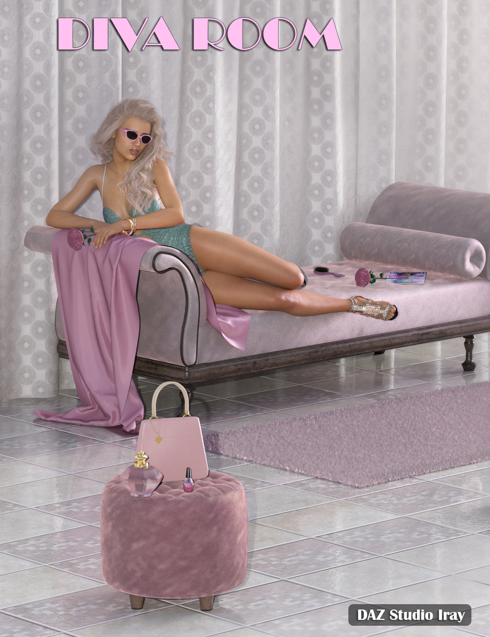 IGDR Diva Room by: i3D_LotusValery3D, 3D Models by Daz 3D