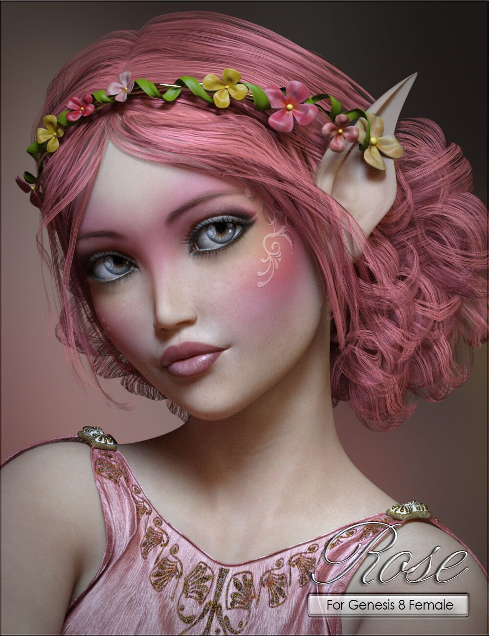 VYK Rose for Aiko 8 by: vyktohria, 3D Models by Daz 3D