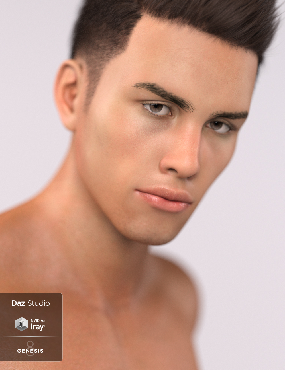Vini for Genesis 8 Male by: JavierMicheal, 3D Models by Daz 3D