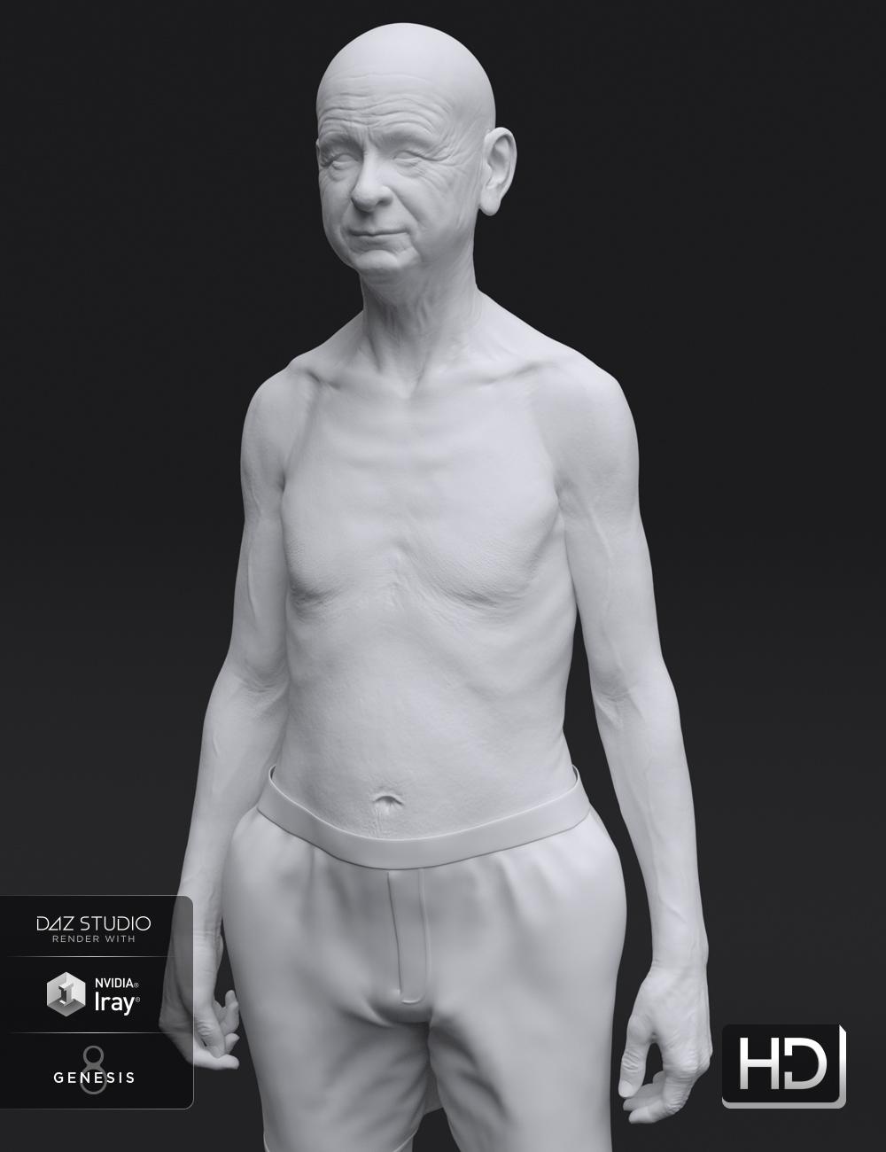 Floyd 8 HD Add-On by: , 3D Models by Daz 3D