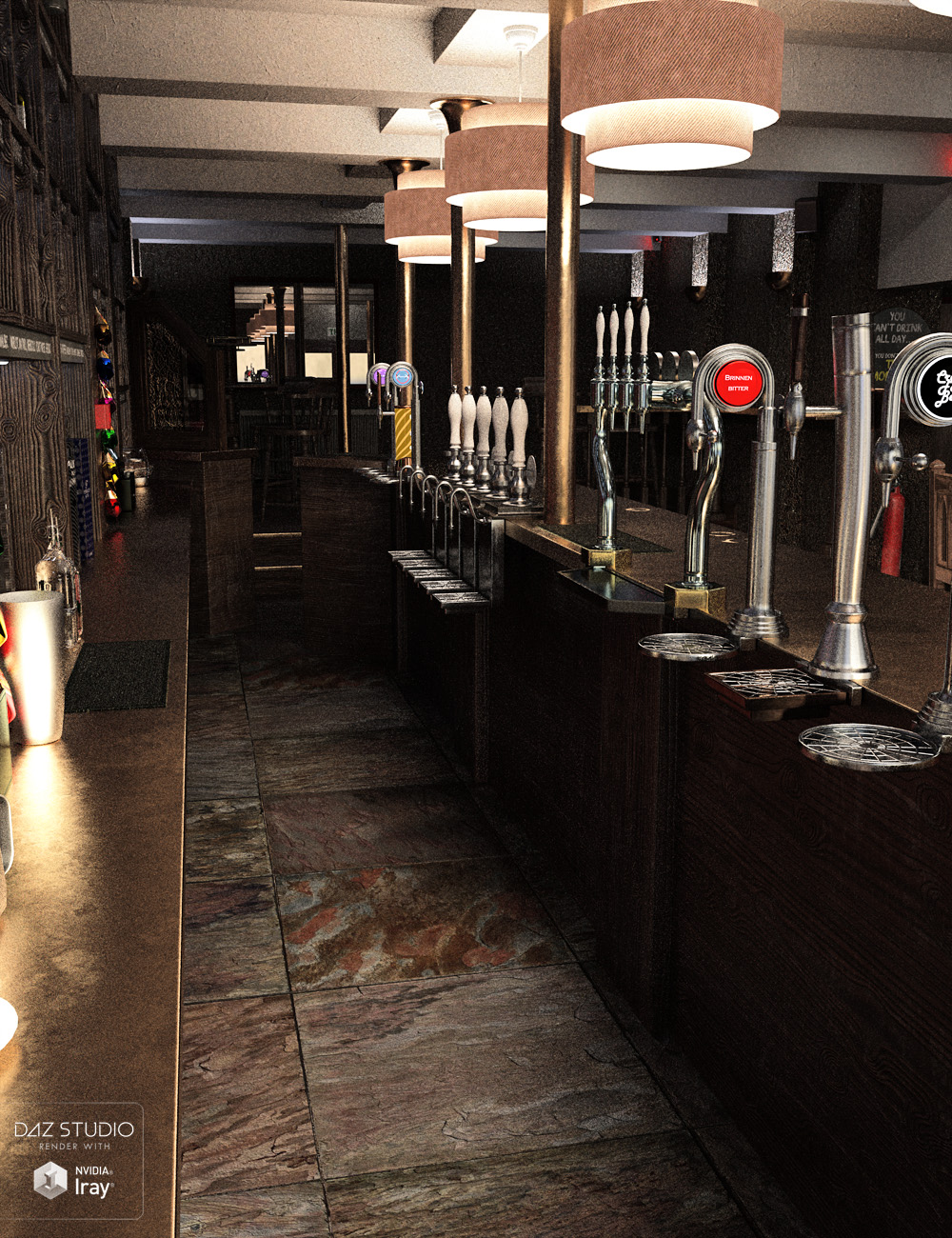 Trendy City Bar by: ForbiddenWhispersDavid Brinnen, 3D Models by Daz 3D